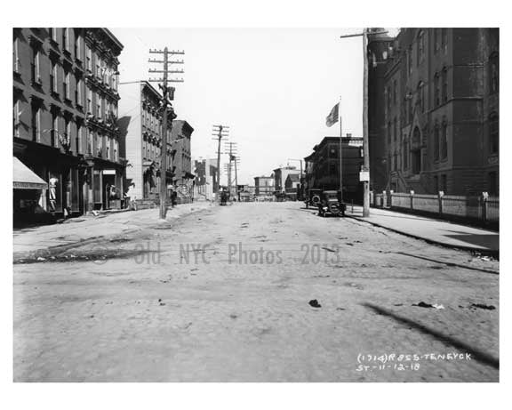 Ten Eyck Street - East  Williamsburg - Brooklyn, NY  1918 I Old Vintage Photos and Images