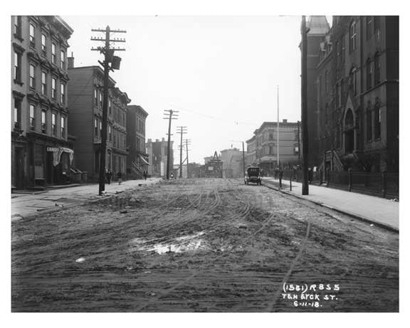 Ten Eyck Street  - Williamsburg - Brooklyn, NY 1918 A Old Vintage Photos and Images