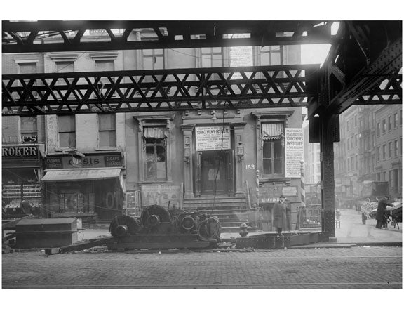 The Bowery - Broome Street 1915 Old Vintage Photos and Images