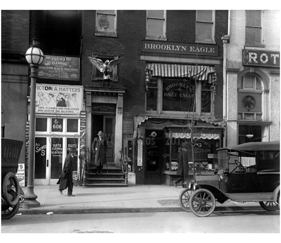The Brooklyn Eagle Old Vintage Photos and Images