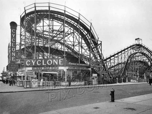 The Cyclone, c.1930 Old Vintage Photos and Images