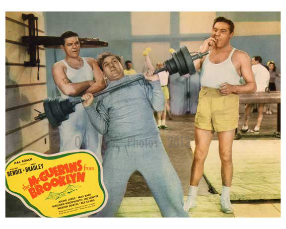 The McGuerins from Brooklyn - at the gym - Vintage Posters Old Vintage Photos and Images