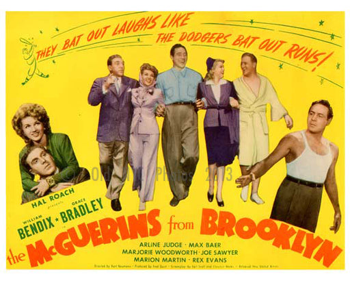 The McGuerins from Brooklyn - cast shot - Vintage Posters Old Vintage Photos and Images