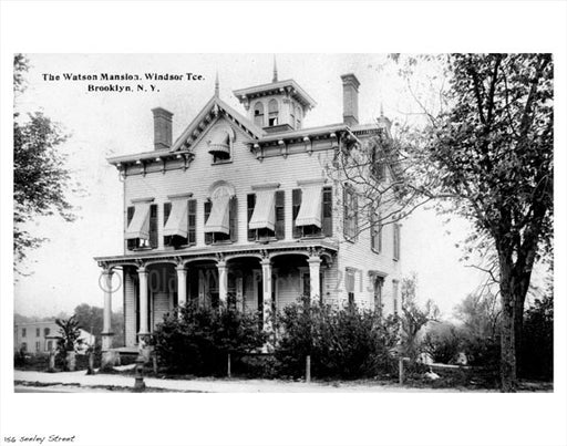 The Watson Mansion - Seeley Street Old Vintage Photos and Images