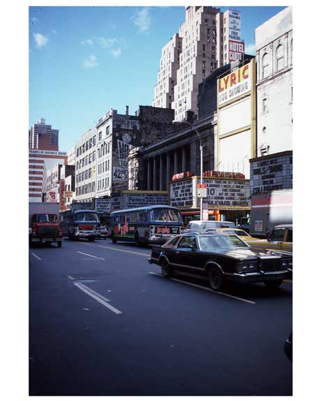 Theater District NYC 1970s Old Vintage Photos and Images