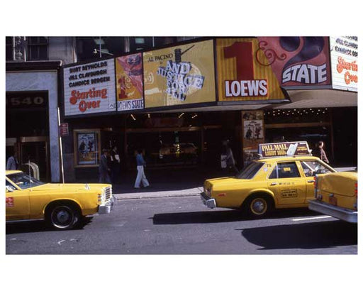 Theater District NYC 1970s II Old Vintage Photos and Images