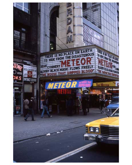 Theaters 1970s Times Square X19 Old Vintage Photos and Images