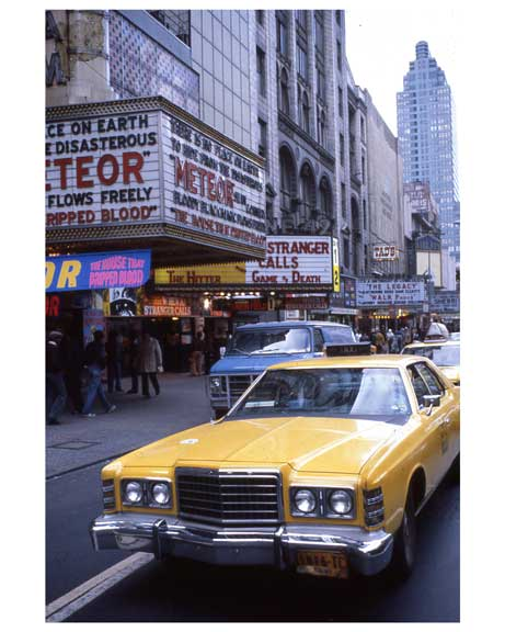 Theaters 1970s Times Square X20 Old Vintage Photos and Images