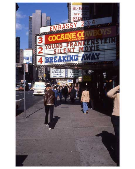 Theaters 1970s Times Square Old Vintage Photos and Images