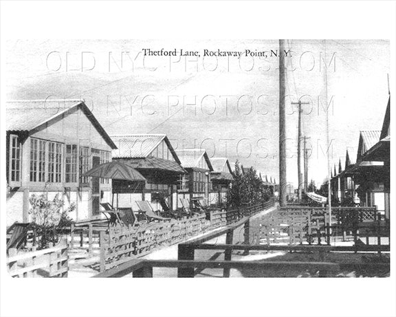 Thetford Lane Breezy Point Rockaway Point 1925 Old Vintage Photos and Images