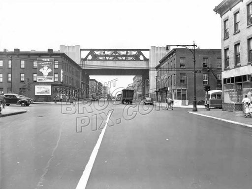 Third Avenue southwest to Ninth Street,(Gowanus), 1947 Old Vintage Photos and Images