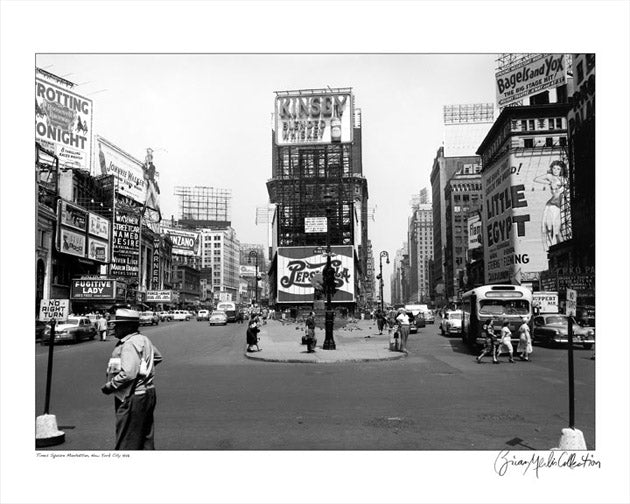 Times Square Manhattan NYC 1948