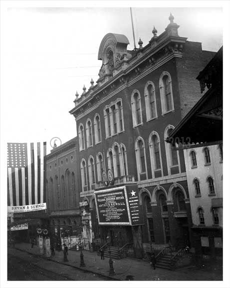 Tony Pastors Theater on 14th Street 1896 - East Village NYC Old Vintage Photos and Images