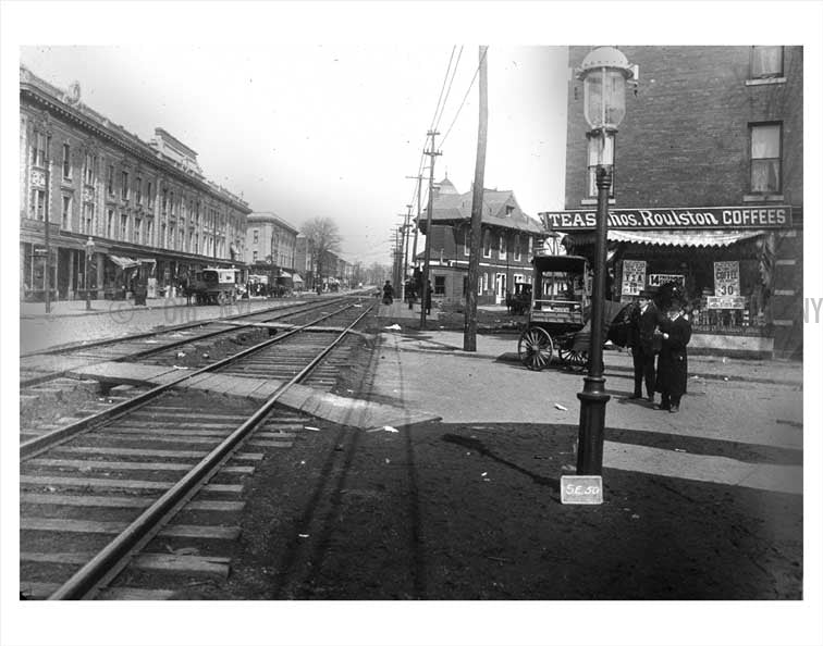 Train line on Utrecht Ave Old Vintage Photos and Images
