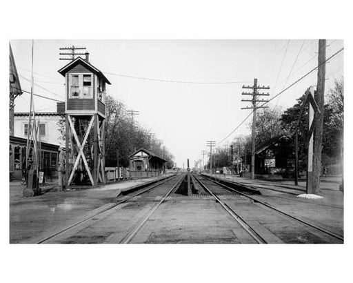 Train Station -  Rockaway Queens NY Old Vintage Photos and Images