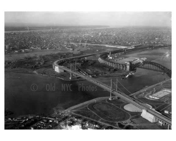 Triborough  Bridge 1939 Brooklyn, NY Old Vintage Photos and Images