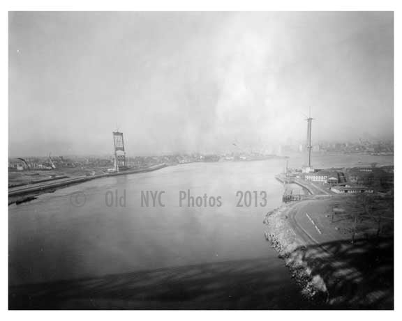Triborough  Bridge under construction   1930s Brooklyn, NY A