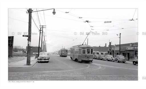 trolley at Utica Ave & Avenue N Old Vintage Photos and Images
