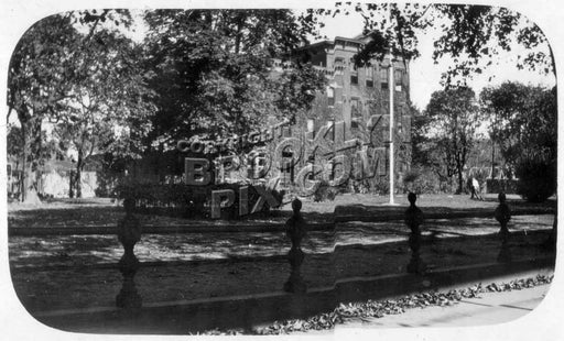 Truant home, Jamaica Avenue at Elderts Lane, now site of F.K. Lane HS athletic field, 1921 Old Vintage Photos and Images