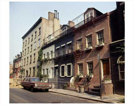 Two Story Buildings Greenwich Village Old Vintage Photos and Images