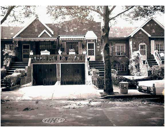 typical East Flatbush Residential scene 1960s Old Vintage Photos and Images