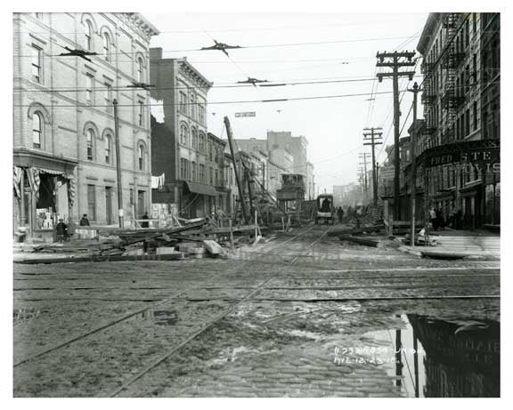 Union Ave - Williamsburg - Brooklyn, NY  1918 I Old Vintage Photos and Images