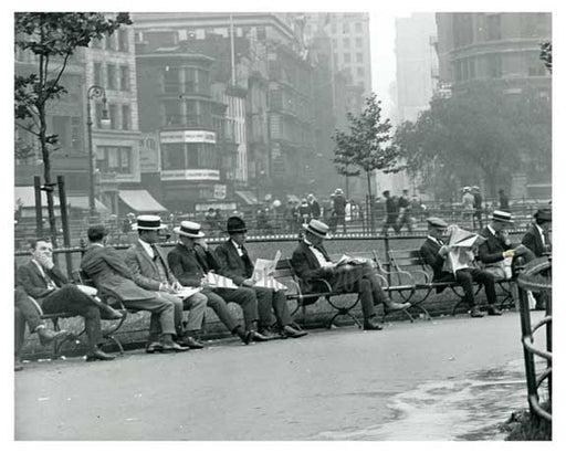 Union Square Park , NY  1922 Old Vintage Photos and Images