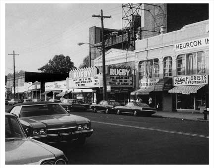 Utica Ave Rugby Theater Old Vintage Photos and Images