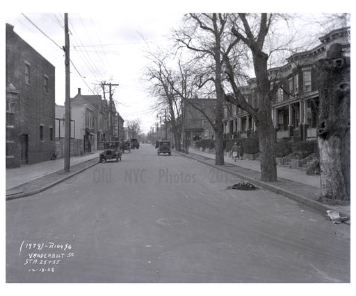 Vanderbilt St. 1928 Old Vintage Photos and Images