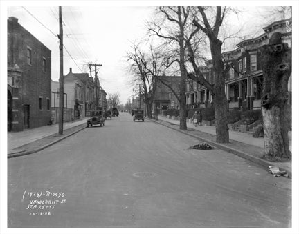 Vanderbilt St Windsor Terrace Brooklyn NY Old Vintage Photos and Images