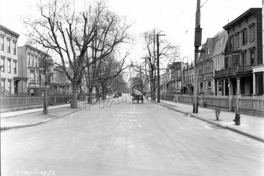 Vanderbilt Street looking east from Prospect Avenue, 1928 Old Vintage Photos and Images