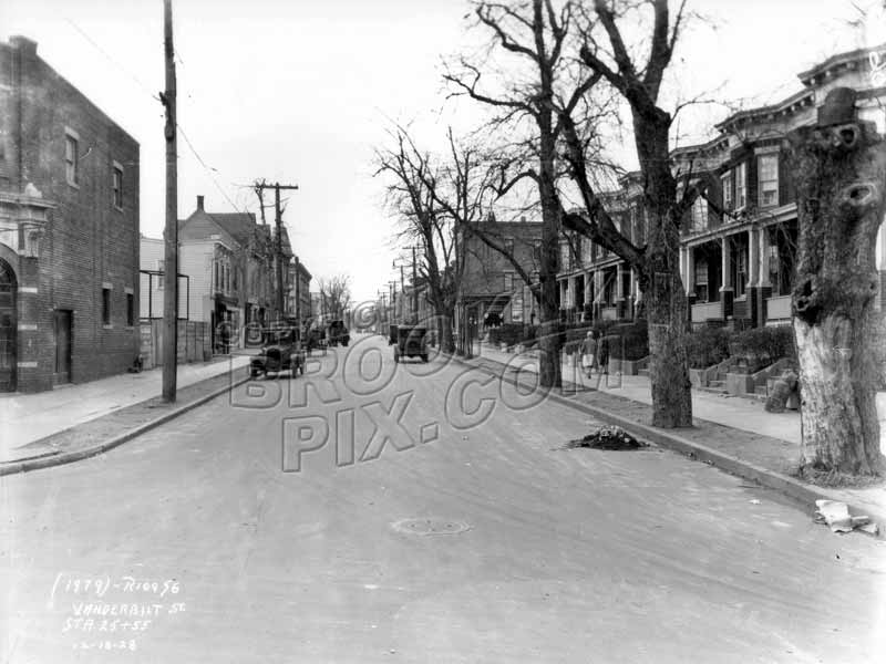 Vanderbilt Street looking west from Prospect Avenue, 1928 Old Vintage Photos and Images