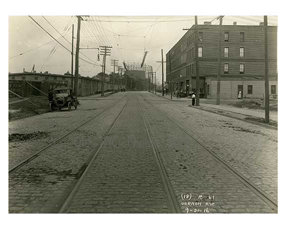 Vernon Ave - 1916  - Long island City  - Queens, NY Old Vintage Photos and Images