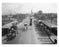 Vernon Ave Bridge - looking north toward Newton Creek -  Queens, NY Old Vintage Photos and Images