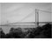 Verrazano Bridge - Staten Island tower, with Fort Wadsworth in the foreground Old Vintage Photos and Images