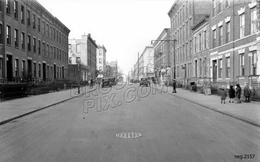 View along 16th Street, 1928 Old Vintage Photos and Images