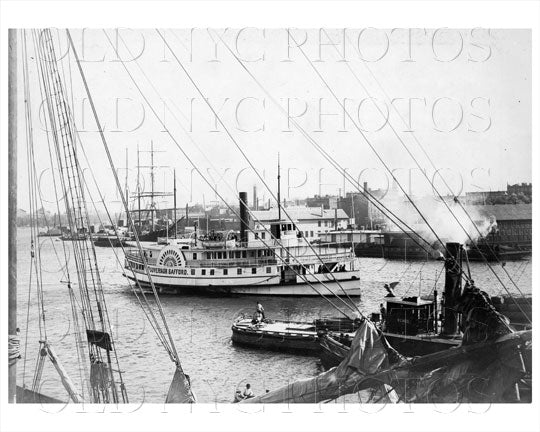 View of Harlem River Manhattan NYC Old Vintage Photos and Images