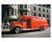 Vintage FDNY Rescue Fire truck - 5th Avenue Parade 1960s Manhattan Old Vintage Photos and Images