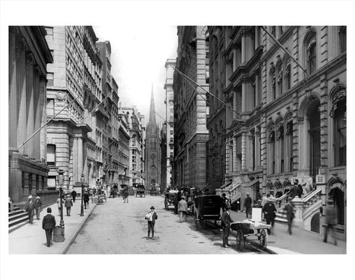 Wall Street 1890's Old Vintage Photos and Images