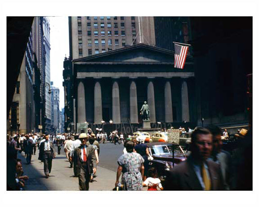 Wall Street 1945 Downtown Manhattan Old Vintage Photos and Images