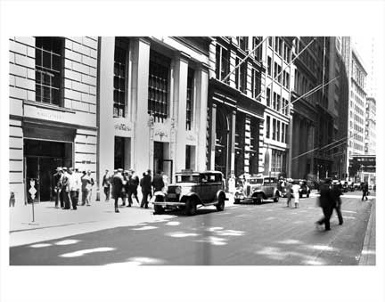 Wall Street 2 NYNY 1 Old Vintage Photos and Images