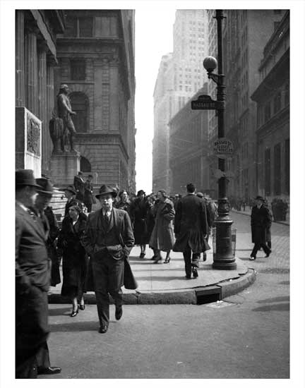 Wall Street NYNY XX Old Vintage Photos and Images