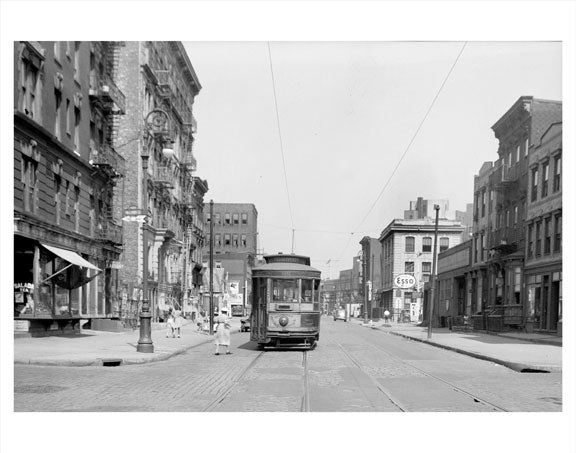 Wallabout Street & Union trolley Line Old Vintage Photos and Images