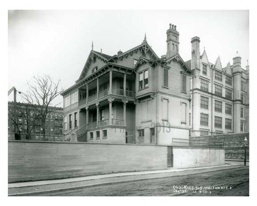 Walton Avenue & 146th Street South Bronx NYC 1913 Old Vintage Photos and Images