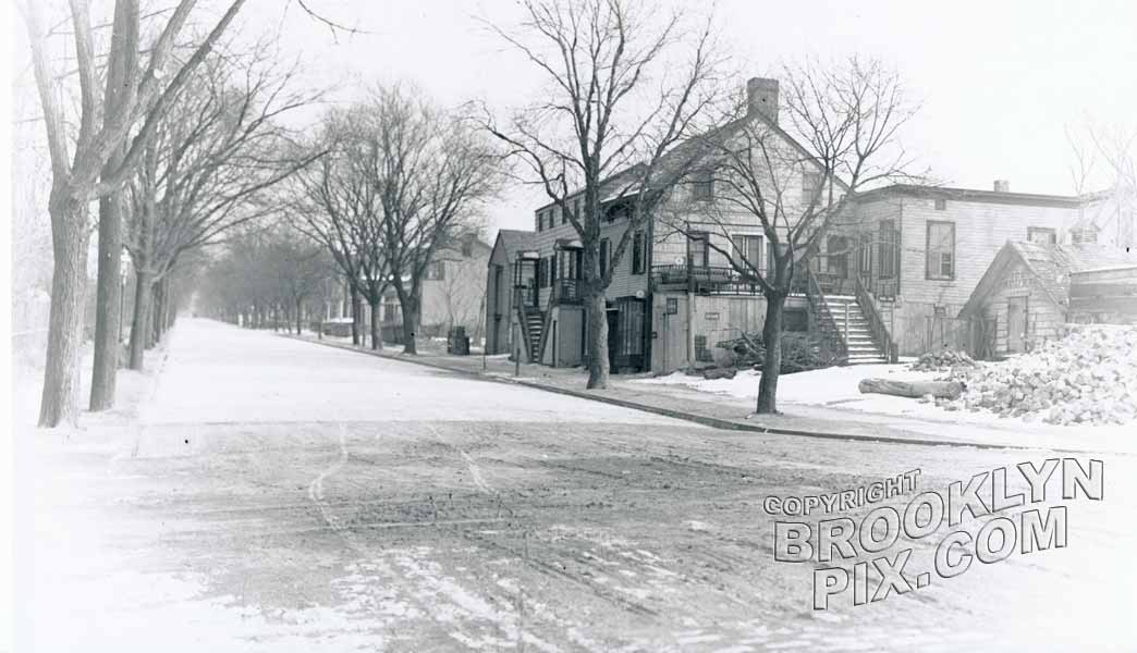 "Wardell's Corner,"" Bay Ridge Avenue from Shore Road, 1912"