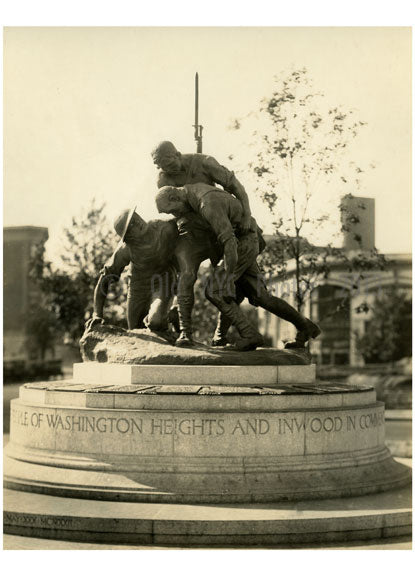Washington Heights World War I Memorial 1926 Old Vintage Photos and Images