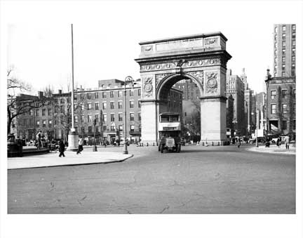 Washington Sq Park Old Vintage Photos and Images