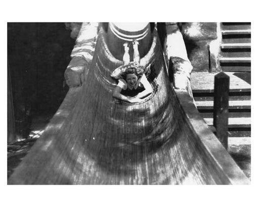 Water slide at the World Fair 1939 Flushing  - Queens NYC Old Vintage Photos and Images