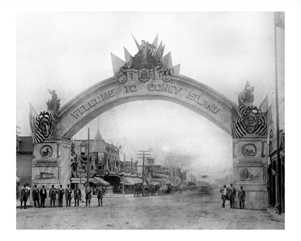 Welcome To Coney Island Old Vintage Photos and Images
