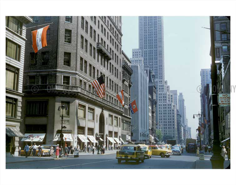 West 38th Street Manhattan NYC Old Vintage Photos and Images